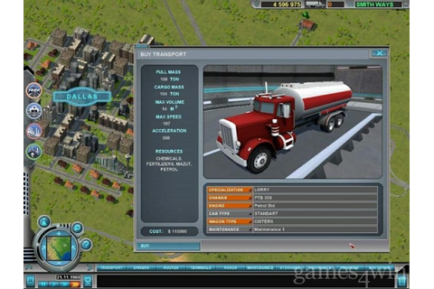 Hard Truck Tycoon Download on Games4Win