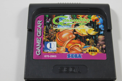 Greendog the Beached Surfer Dude - Sega Game Gear