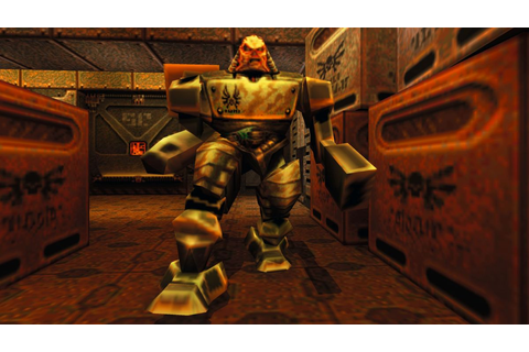 Returning to Quake 2, the legendary shooter that's still ...