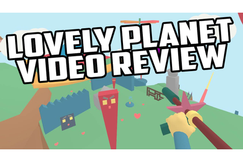 Lovely Planet PC Game Review - YouTube
