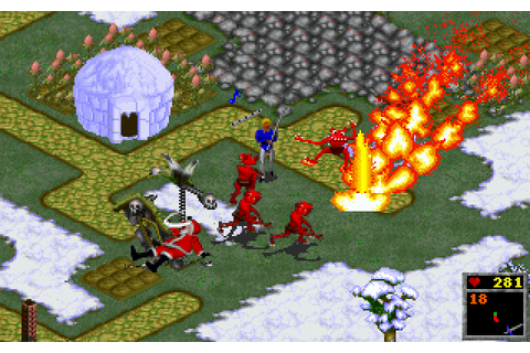The Horde Screenshots for DOS - MobyGames