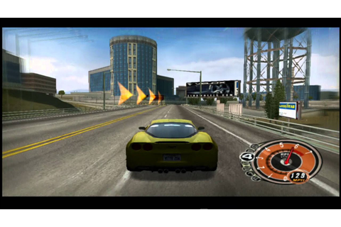 PS2 - FORD vs CHEVY - Chevrolet Corvette Z06 - Gameplay ...