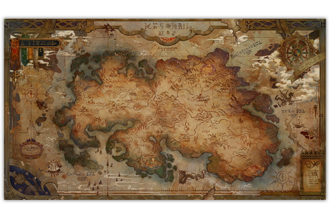 Grand Kingdom – Cloth Map | Game Preorders