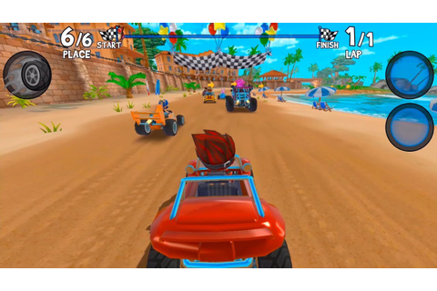 Beach Buggy Racing 2 - mobile kart racing games - Gameplay ...