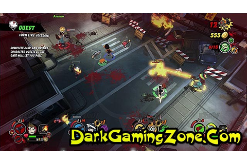 Burn Zombie Burn Game - Free Download Full Version For PC