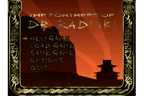 Download The Fortress of Dr. Radiaki | DOS Games Archive