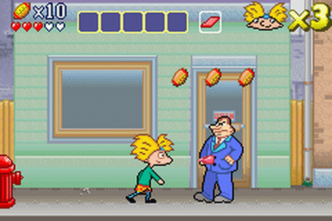 Game Review: Hey Arnold! The Movie (Game Boy Advance ...