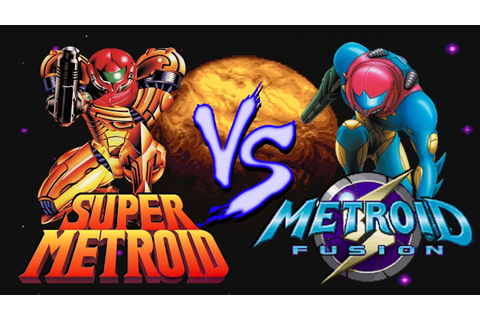 Super Metroid Vs. Metroid Fusion - YouTube
