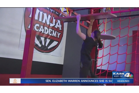 """American Ninja Warrior"" champion training a new ..."