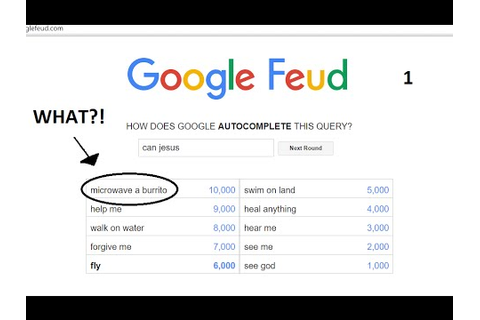 INSANE GUESSING GAME! | Google Feud - YouTube