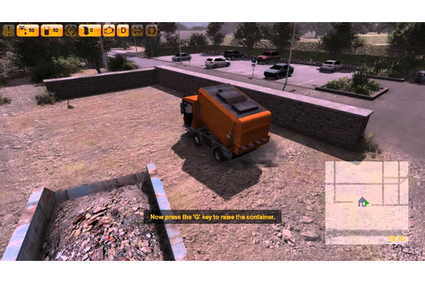 Street Cleaning Simulator 2011 Let's Play Gameplay ...