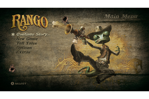 Rango The Game (X360, PS3) on Behance