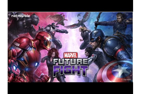 Marvel Future Fight Update 2.1.0 Review: Civil War! New ...