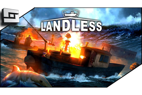 Waterworld The Game?! Landless Gameplay - Ep 1 — Sl1pg8r ...