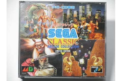 SEGA MEGA-CD USED SEGA CLASSIC Arcade Collection.Japan ...