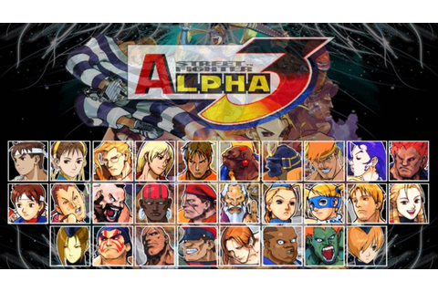 Classic PS1 Game Street Fighter Alpha 3 on PS3 in HD 720p ...