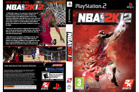 Games PS2 ISO: NBA 2K12 (2011)