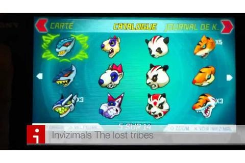Invizimals The Lost Tribes On Qwant Games