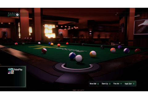 Pure Pool (PS4 / PlayStation 4) Game Profile | News ...