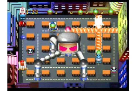Bomberman Party Edition - Robo Bomber (AB) part 1 - YouTube