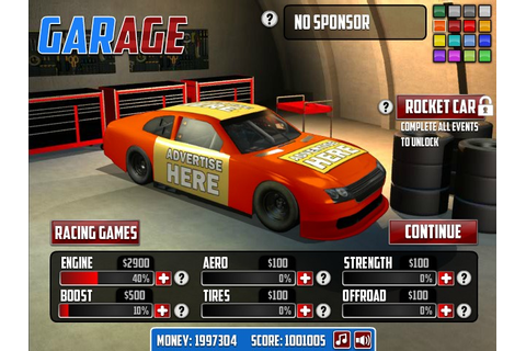 NASCAR: American Racing 2 Hacked (Cheats) - Hacked Free Games