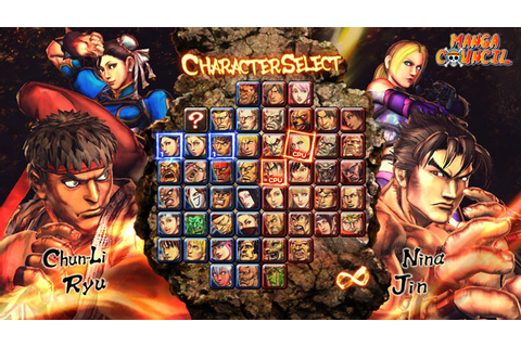 Street Fighter X Tekken Save Game | Manga Council