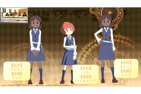 Little Witch Academia: Chamber of Time New Gameplay ...