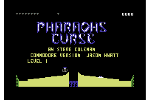Download The Pharaoh's Curse (Commodore 64) - My Abandonware