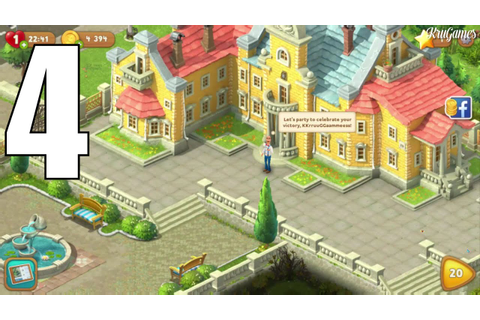 Gardenscapes - New Acres Android Gameplay #4 - Level 16 ...