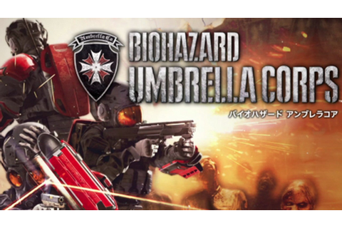 TGS 2015: Multiplayer Resident Evil Game Umbrella Corps ...