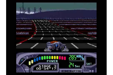 Sega Genesis games - OutRun 2019 - stage 3 - YouTube