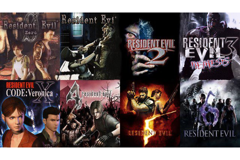 Resident Evil Play Order - What Order Should I Play the RE ...