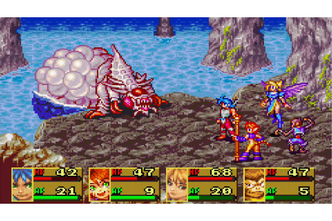 Breath Of Fire II GBA Boss #8 - YouTube
