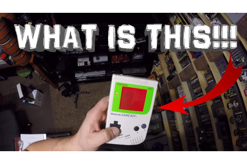 EPIC VIDEO GAME PICKUP - MODDED GAME BOY EDITION - YouTube