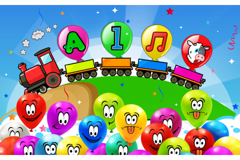Balloon Pop Kids Learning Game Free for babies 🎈 - Android ...