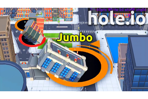 Hole.io - INSANE WIN IN NEW .IO GAME ( Hole.io World ...