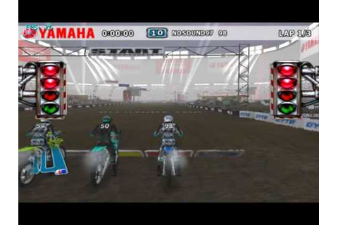 Yamaha Supercross (Wii) on Dolphin Wii/GC Emulator - YouTube