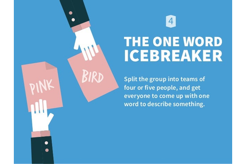 THE ONE WORD ICEBREAKER Split