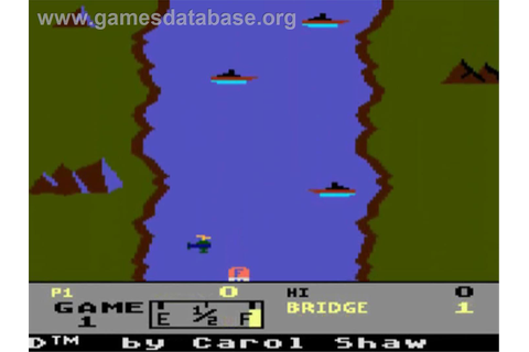 River Raid - Atari 5200 - Games Database