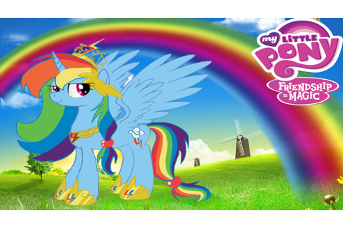 My Little Pony Super Style Dress Up (Rainbow Dash) Game ...