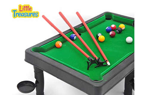 TV, Movies & Video Games - World Champion Mini Pool Set ...