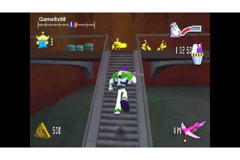 Buzz Lightyear Of Star Command - Action Games PC - YouTube