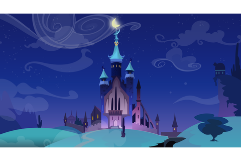 Nightmare Moon's Castle by Vectorpone on DeviantArt