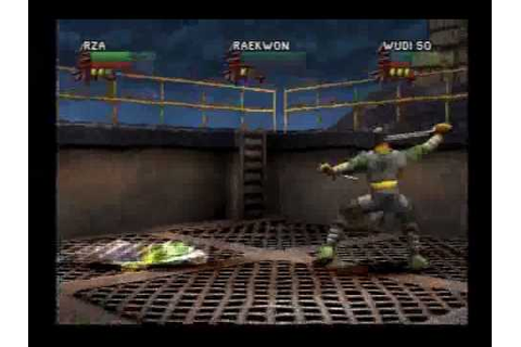 Wu Tang Shaolin Style Gameplay Playstation - YouTube