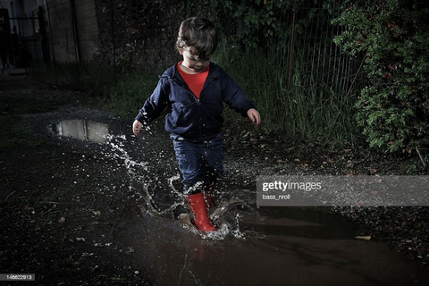 Puddles Game Stock Photo | Getty Images