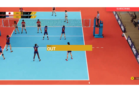 Spike Volleyball Gameplay (PC Game) - YouTube