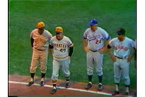 1971 MLB All Star game part 1 - YouTube