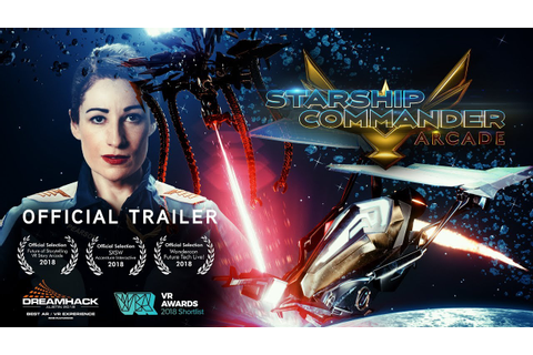 STARSHIP COMMANDER: Arcade Official Trailer - YouTube