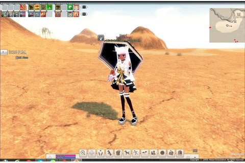Mabinogi game screenshot: My Character Miralla by Yiya ...
