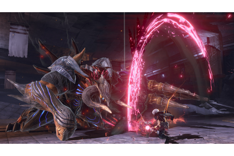 God Eater 3's hunt for monsters has begun | Rock Paper Shotgun
